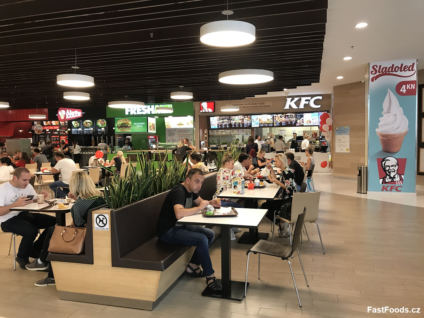 KFC City Center One West, Hrvatska, Chorvatsko, fastfoods.cz